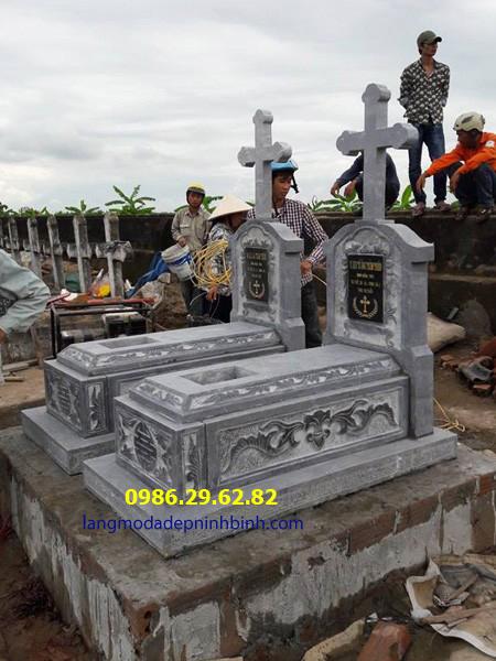 mộ đá công giáo đẹp