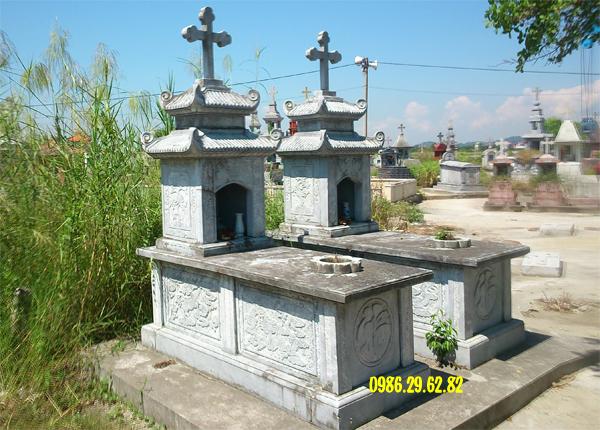mẫu mộ đá công giáo