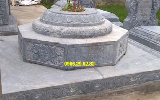 mộ hình bát giác bằng đá