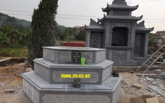 mẫu mộ bát giác
