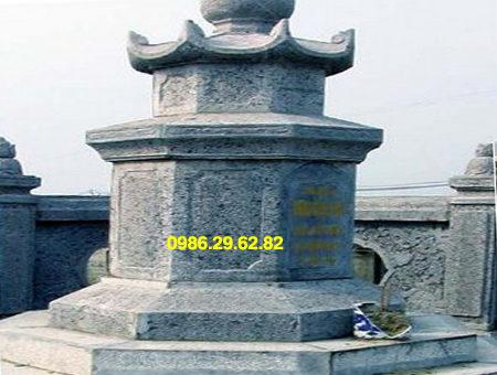 mộ bát giác bằng đá