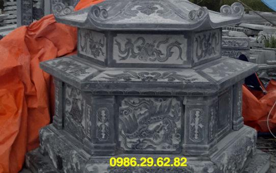 mẫu mộ đá lục giac