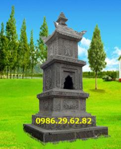 mộ đá tháp đẹp