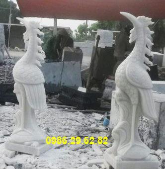 hạc thờ bằng đá
