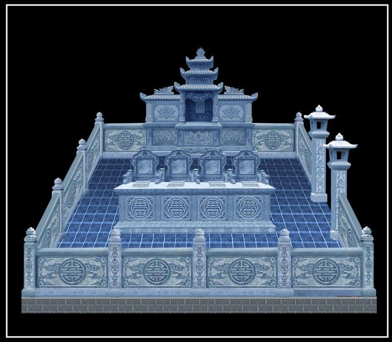 xây dựng lăng mộ đấ